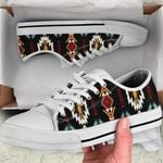 Native American Pattern Low Top Canvas Shoes