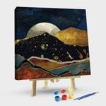 The Rising Moon # style 1