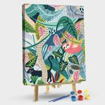 Colorful Jungle # Style 4