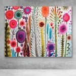 Canvas Prints-Abstract Flower