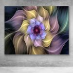 Canvas Prints-Mandala Abstract Flower