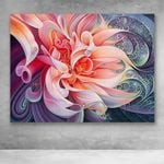 Canvas Prints-Orb Flower