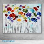 Canvas Prints-Poppies