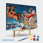 Santa Claus and Reindeer # 2