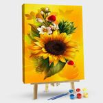 Sunflower With Rose