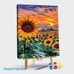 Sunflower burning cloud