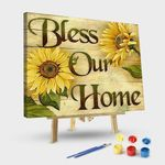 Sunflowers-Bless Our Home