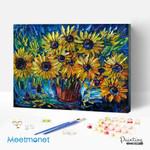 Many sunflowers
