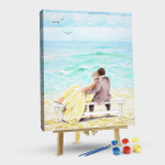 Romantic time by the sea