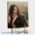 Digital portraits of women #10