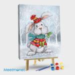 Rabbit In Wood