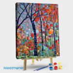 Blocky abstract tree