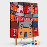 Colorful abstract house #1