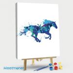 Multicolor Horse