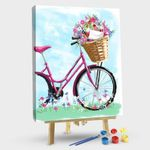 Bicycle and envelope