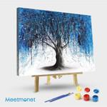 Blue Midnight Tree