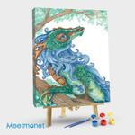 Blue Maned Dragon