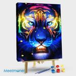 Psychedelic Tiger VII