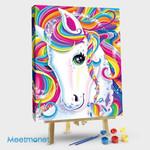 Colorful Horse Unicorn