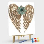 Angel Wings with Flower