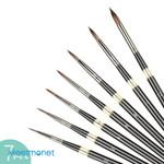 7 Pcs Paint Brushes Set