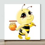 Mini - Honey Bee(Already Framed Canvas)