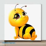 Mini - Bee(Already Framed Canvas)