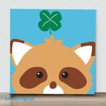 Mini – Fox(Already Framed Canvas)