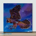 Mini-Hawk Flight(Already Framed Canvas)
