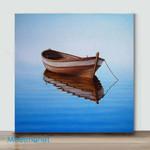 Mini -Fishing Boat I(Already Framed Canvas)