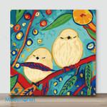 Mini-Spring Birds Series2(Already Framed Canvas)