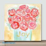 Mini-Joyful Roses-2(Already Framed Canvas)