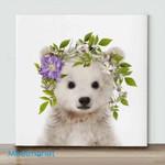 Mini-Polar Bear(Already Framed Canvas)