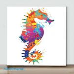 Mini-Seahorse(Already Framed Canvas)