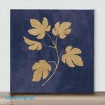 Mini – Golden leaves(Already Framed Canvas)