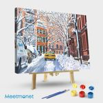 Snow West Village New York City