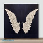 Mini – Angle Wing #01(Already Framed Canvas)