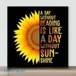 Mini – Golden Sunflower(Already Framed Canvas)