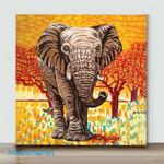Mini-Wild Africa (Already Framed Canvas)