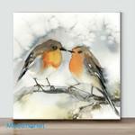 Mini-Bird Art #06(Already Framed Canvas)