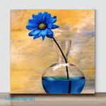 Mini-Vase flower #9(Already Framed Canvas)
