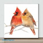 Mini-Bird Art #08(Already Framed Canvas)