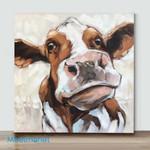 Mini-Whimsical Cow Paintings(Already Framed Canvas)