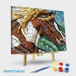 Horse Glass Mosaic