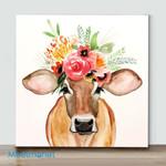 Mini-Painting Flora And Fauna Art(Already Framed Canvas)