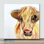 Mini-Funny Cow(Already Framed Canvas)