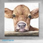 Canvas Prints-Little Cow boy