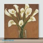 Mini-Callas dans un vase(Already Framed Canvas)