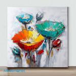 Mini-Poppy Art (Already Framed Canvas)