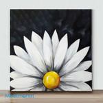 Mini-Chalkboard Daisy(Already Framed Canvas)